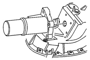 The Transfer Case Encoder Motor